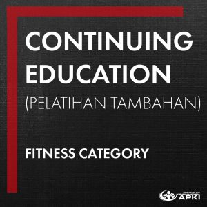 CONTINUING EDUCATION - FITNESS