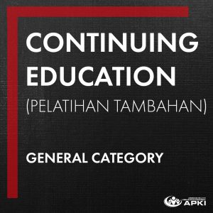 CONTINUING EDUCATION – GENERAL