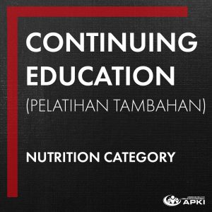 CONTINUING EDUCATION – NUTRITION